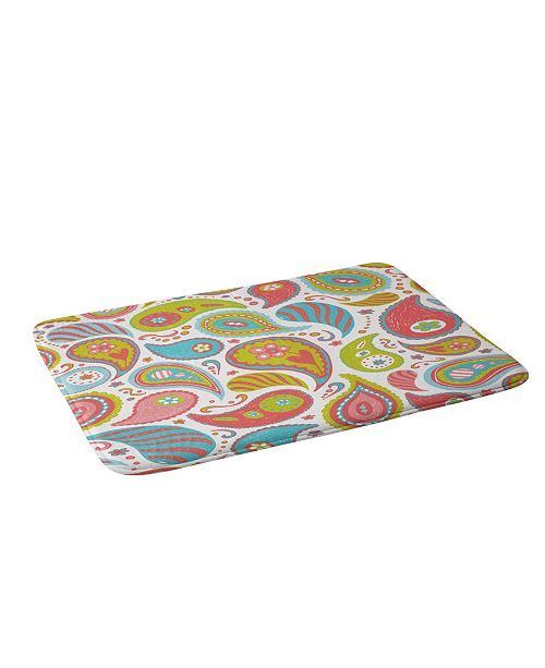 Deny Designs Heather Dutton Power Paisley Bath Mat