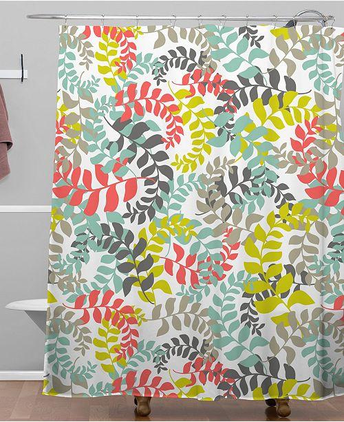 Deny Designs Heather Dutton Undertow Coral Shower Curtain