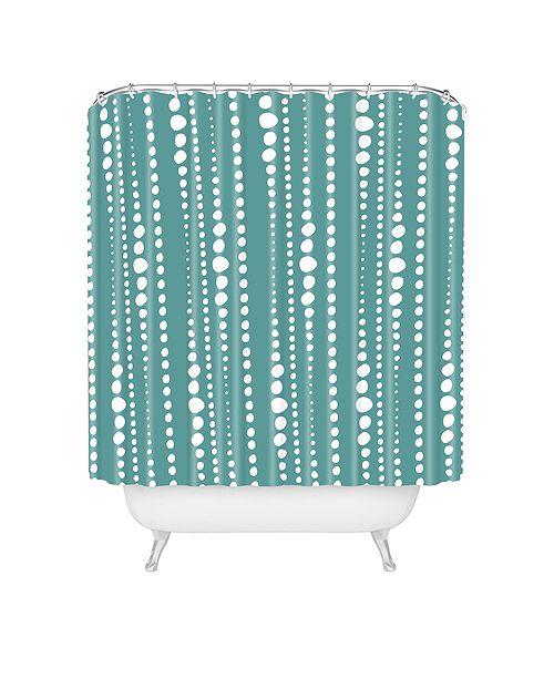 Deny Designs Heather Dutton Bestrewn Lagoon Shower Curtain