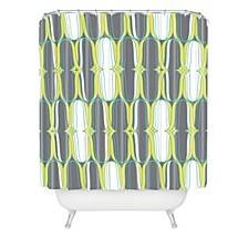 Heather Dutton Lofty Idea Metro Shower Curtain