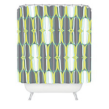 Deny Designs Heather Dutton Lofty Idea Metro Shower Curtain
