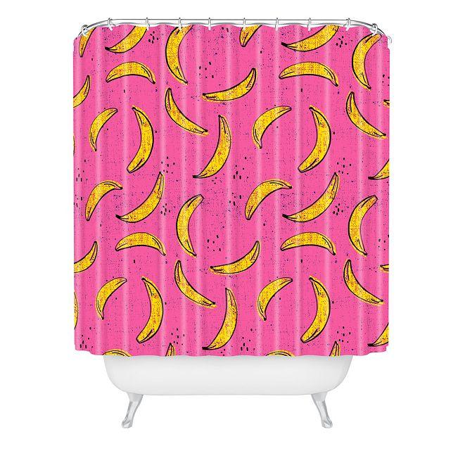 Deny Designs Holli Zollinger Folka Banana Shower Curtain