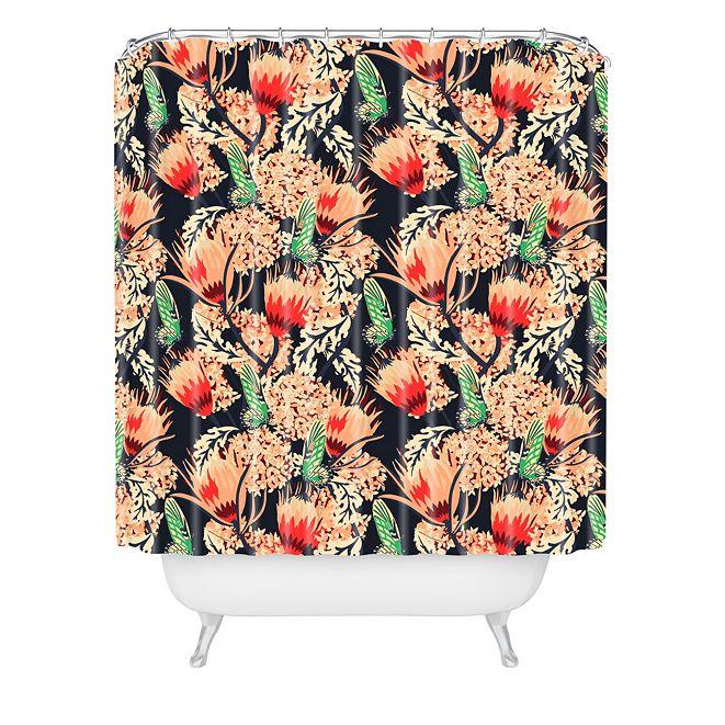 Deny Designs Holli Zollinger Boheme Butterfly Shower Curtain