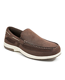 Deer Stags Men's Bowen Memory Foam Casual Comfort Boat Shoe Loafer