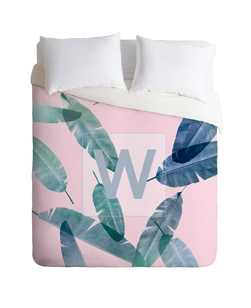 Deny Designs Iveta Abolina Peaches N Cream W Twin Duvet Set