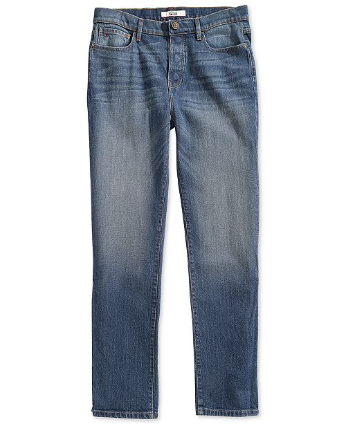 8a6be2ea45 ... Magnetic Fly; Tommy Hilfiger Men's Hamilton Relaxed Jeans with Magnetic  ...