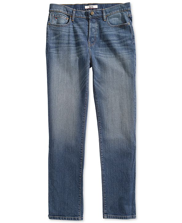 Tommy Hilfiger Men's Hamilton Relaxed Jeans  with Magnetic Fly