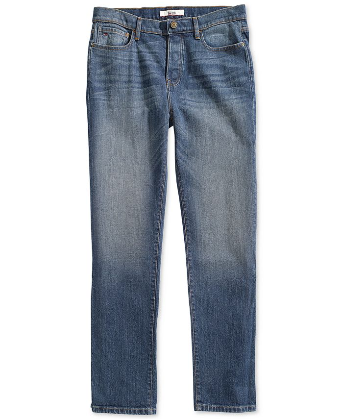 Tommy Hilfiger - Men's Hamilton Relaxed Jeans From The Adaptive Collection