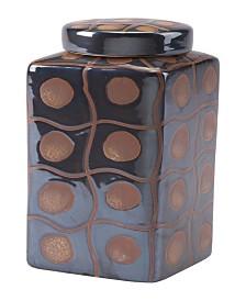 CLOSEOUT! Zuo  Inca Medium Covered Jar