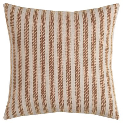 "20"" x 20"" Ticking Stripe Poly Filled Pillow"