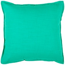 "Solid 20"" x 20"" Poly Filled Pillow"