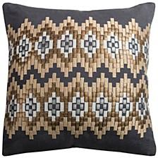"18"" x 18"" Ikat Chevron Pillow Collection"