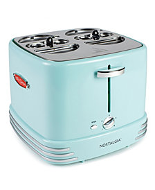 Nostalgia 4-Slot Retro Hot Dog Toaster, Aqua