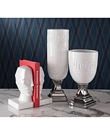 Face Bookends White