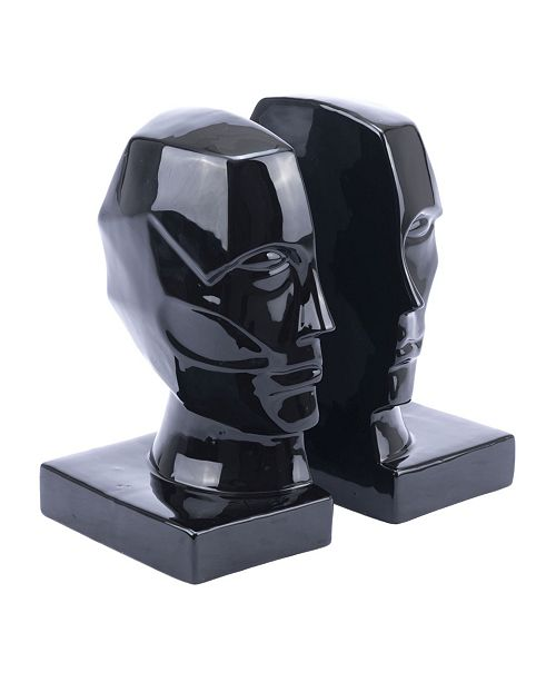 Zuo Face Bookends