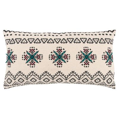 """14"""" x 26"""" Tribal Design Poly Filled Pillow"""