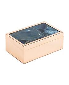 Small Blue Stone Box