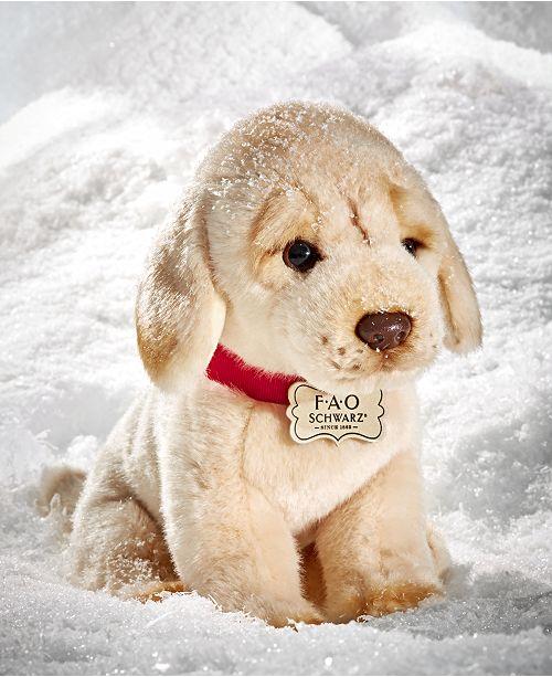66c51be573c0 FAO Schwarz Toy Plush Puppy Floppy Labrador 10inch & Reviews - Home ...