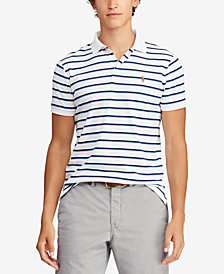 Polo Ralph Lauren Men's Striped Soft Touch Classic Fit Polo