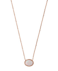 EFFY® Opal (3/4 ct.t.w.) Pendant in 14k Rose Gold