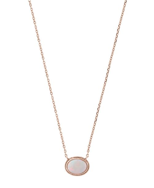 EFFY Collection EFFY® Opal (3/4 ct. t.w.) Pendant Necklace in 14k Rose Gold