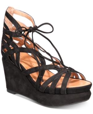by Kenneth Cole Women's Joy Platform Wedge Sandals Women's Shoes