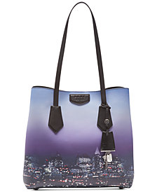 DKNY Sullivan Leather North-South Tote, Created for Macy's