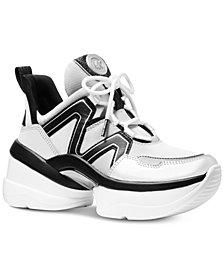 "MICHAEL Michael Kors Olympia ""Dad"" Sneakers"