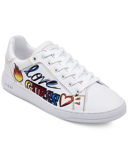 32a27d7e4f GUESS Women s Crayza Sneakers   Reviews - Athletic Shoes   Sneakers ...