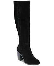 Steve Madden Women's Roxana Whipstitch Dress Boots