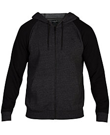Hurley Men's Bayside Zip-Up Fleece Hoodie, Created for Macy's