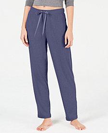 Alfani Ribbed Hacci Sweater-Knit Pajama Pants, Created for Macy's