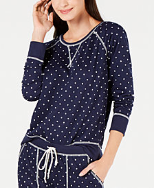 Jenni by Jennifer Moore Printed Pajama Top, Created for Macy's