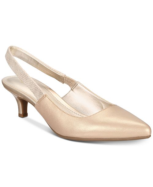 b1ce0e79a37 Anne Klein Aileen Evening Pumps   Reviews - Pumps - Shoes - Macy s