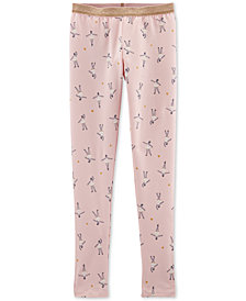 Carter's Big & Little Girls Ballerina-Print Leggings