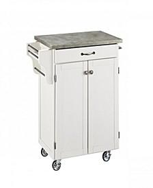 Cuisine Cart with Concrete Top