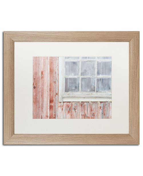 "Trademark Global Cora Niele 'Little Windows I' Matted Framed Art, 16"" x 20"""