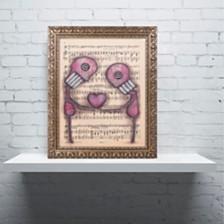 "Abril Andrade 'Nuestro Amor Eterno' Ornate Framed Art, 11"" x 14"""