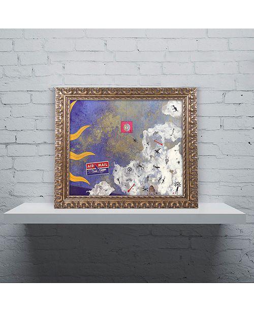 "Trademark Global Nick Bantock 'Petros' Ornate Framed Art, 16"" x 20"""