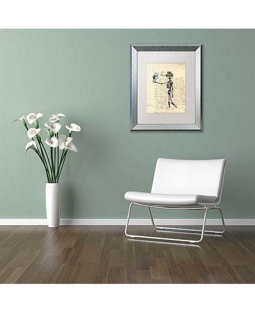 "Trademark Global Nick Bantock 'Agincourt' Matted Framed Art, 11"" x 14"""
