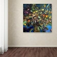 "Nick Bantock 'Tree of Life' Canvas Art, 18"" x 18"""
