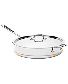 All-Clad Copper Core 6 Qt. Covered Saute Pan