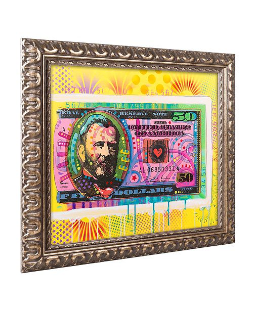 """Trademark Global Dean Russo 'Halfway There' Ornate Framed Art, 11"""" x 14"""""""