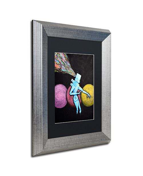 """Trademark Global Craig Snodgrass 'Breakout' Matted Framed Art, 11"""" x 14"""""""