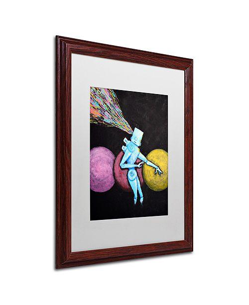 """Trademark Global Craig Snodgrass 'Breakout' Matted Framed Art, 16"""" x 20"""""""