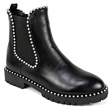 Shelley Studded Ankle Booties
