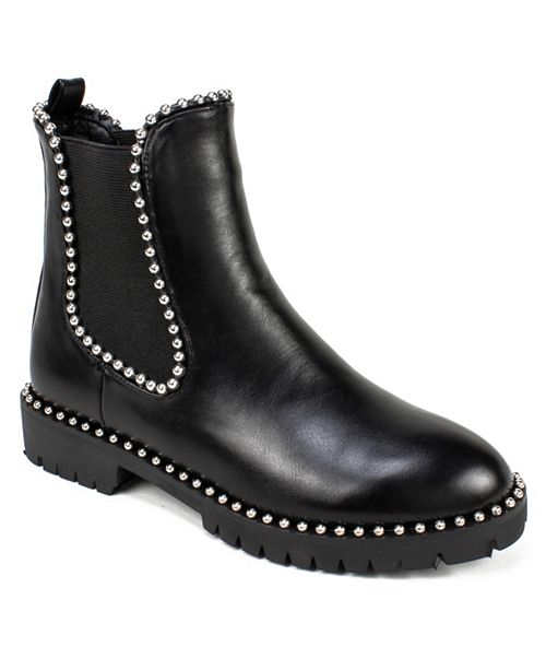 Seven Dials Shelley Studded Ankle Booties