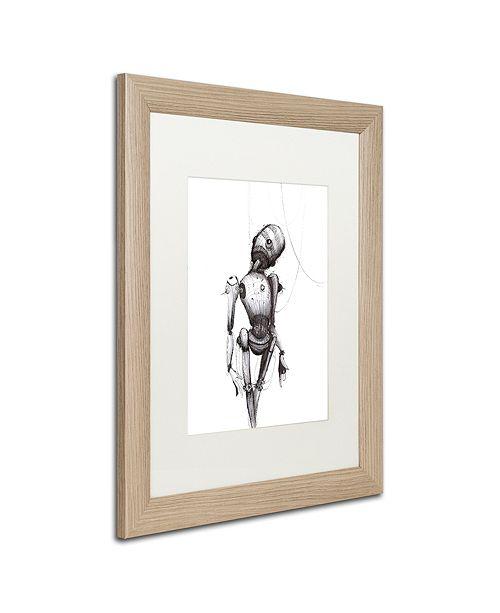 """Trademark Global Craig Snodgrass 'Disconnect' Matted Framed Art, 16"""" x 20"""""""