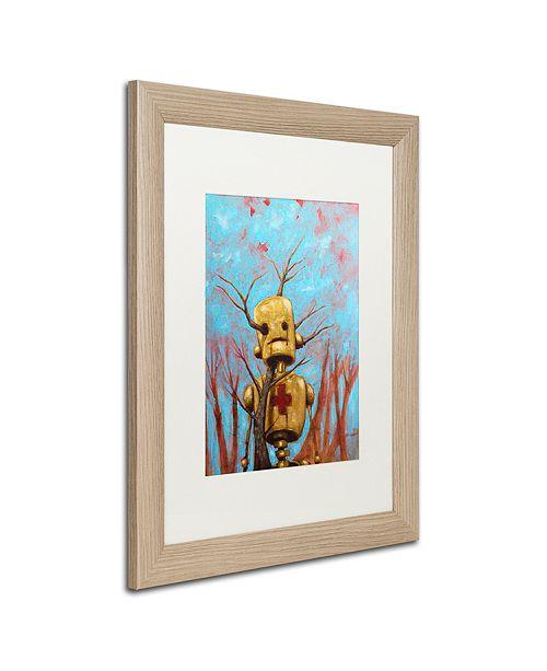 """Trademark Global Craig Snodgrass 'Medic' Matted Framed Art, 16"""" x 20"""""""