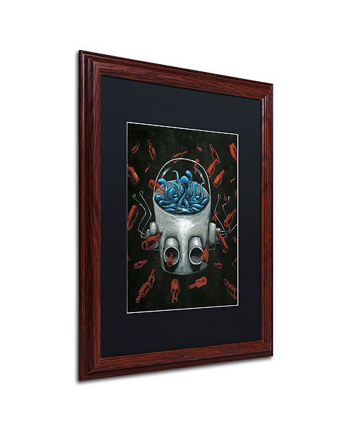 "Trademark Global Craig Snodgrass 'Visions II' Matted Framed Art, 16"" x 20"""